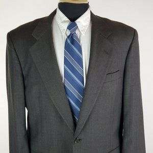 Jos A Bank Signature 42 R 2 Button Wool Blazer Men